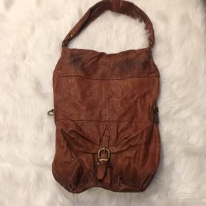 FREE PEOPLE OLD TREND LEATHER BAG